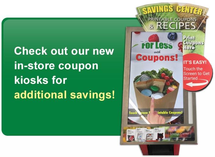 Kiosk Savings