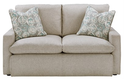 Melilla Upholstered Loveseat Ash
