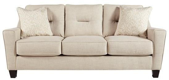 Nuvella Upholstered Sofa Sand
