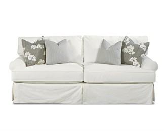 Lahoya Upholstered Slip Cover Queen Sofa Sleeper