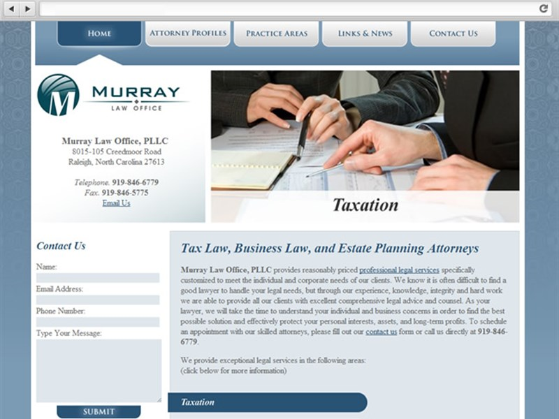 Murray Law Office - Web Design