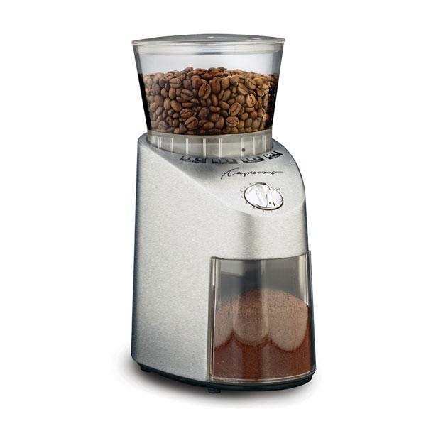 Carolina Coffee Capresso Infinity Conical Burr Grinder - Plastic Housing