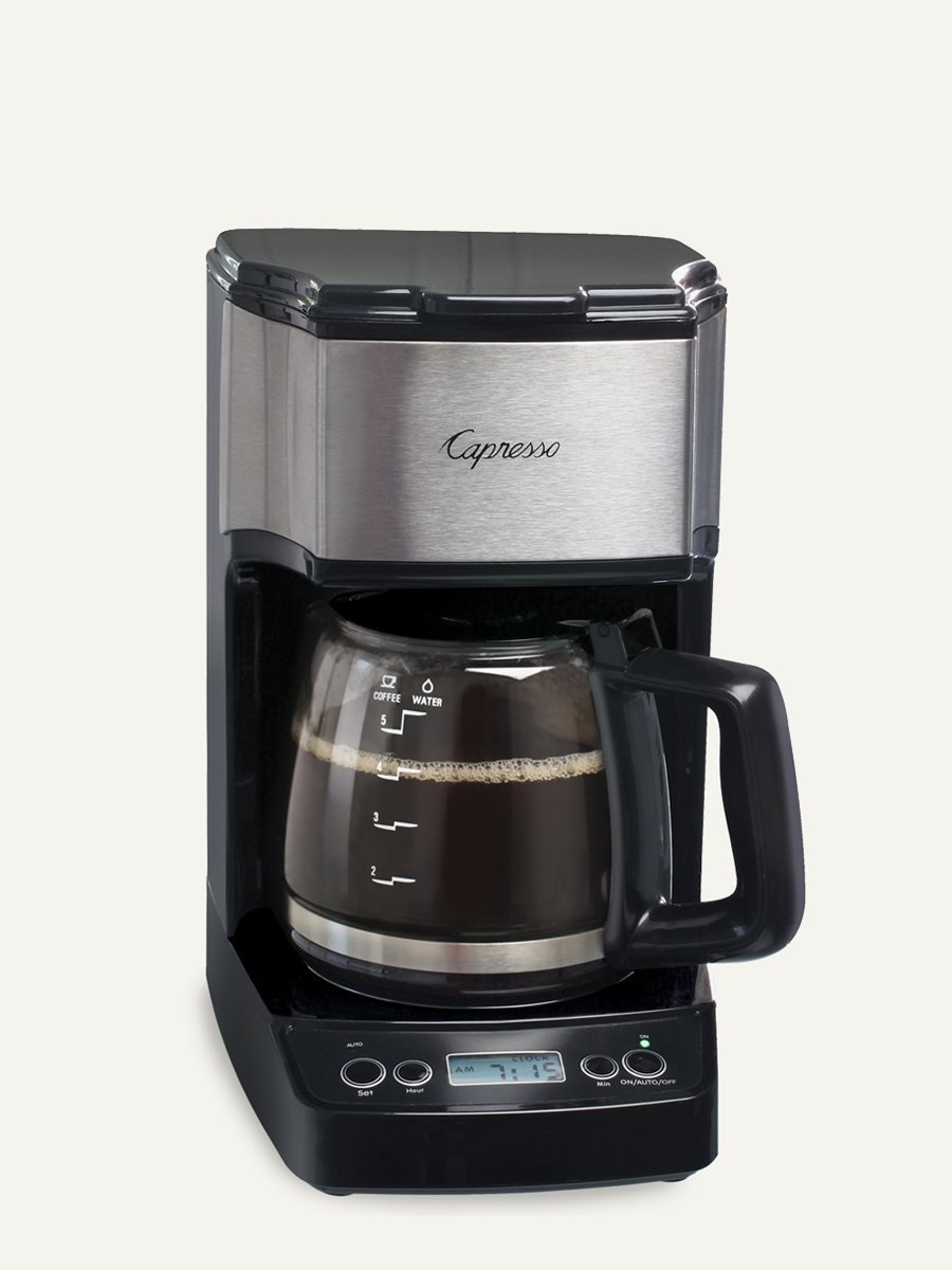Carolina Coffee Capresso NEW Mini Drip 5-Cup Programmable Coffee Maker