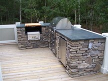 Outdoor Kitchen - finished