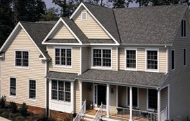 Landmark™ Special Shingles - Color: Weathered Wood