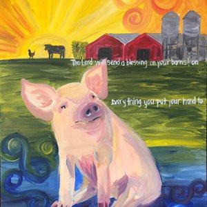 Deut 28:8 (Pig)
