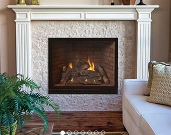 Tahoe Traditional Clean Face Luxury Fireplace Coastroad