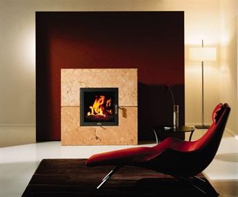 Bordeaux ZC wood fireplace