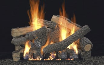 Ponderosa vented/unvented gas logs