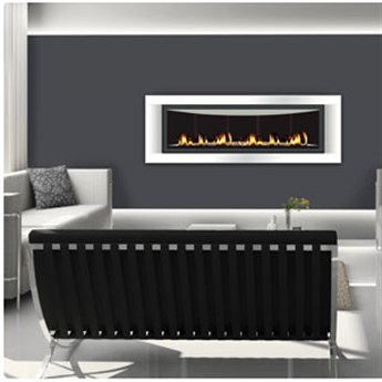 LHD50 direct vent gas fireplace