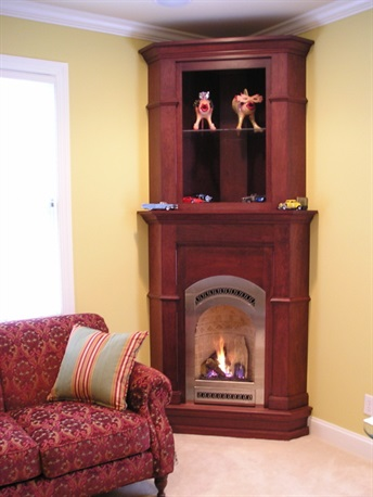 "J.C. Huffman ""Portrait"" fireplace cabinets"