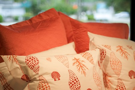 Coral Bedding