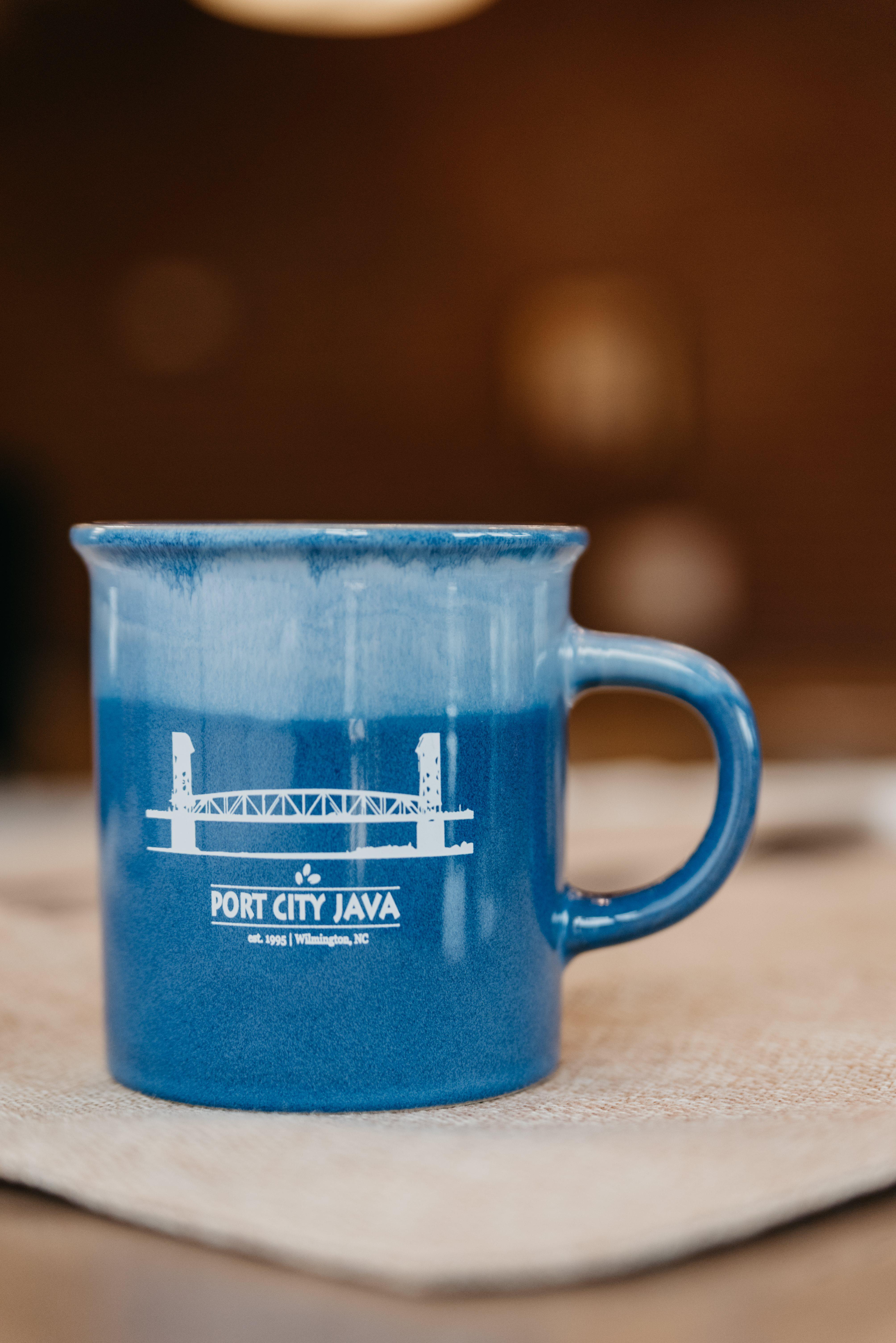 Blue Desk Mug