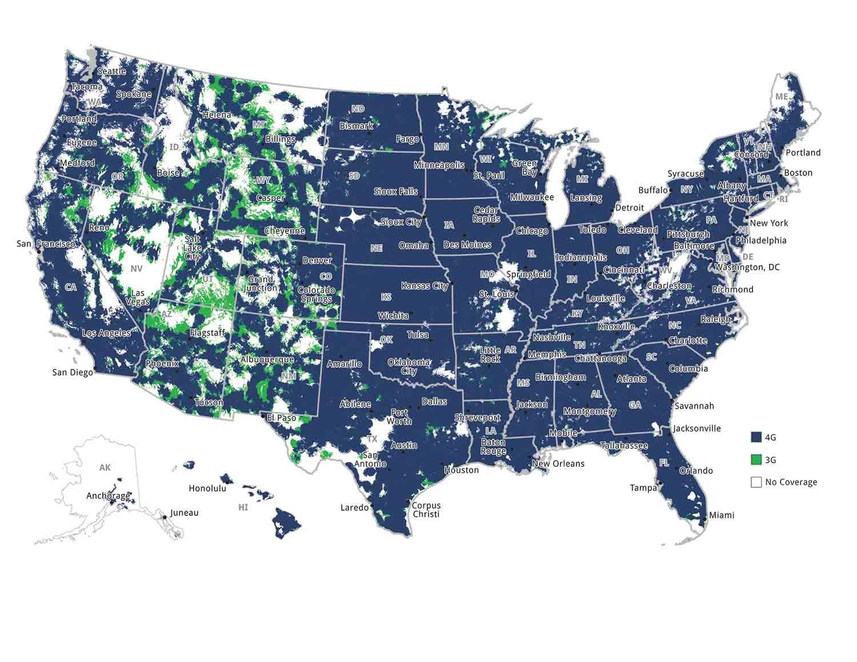 TSP 4G Map