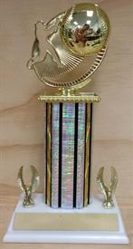 TDE Baseball Trophy