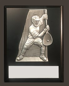 MCPG79 Defensive Figure Lacrosse Plaque