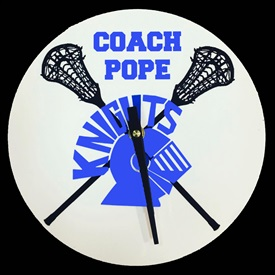 Custom Logo Clock