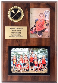 DSP 9X12 Lacrosse Plaque
