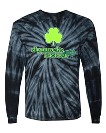 Tie Dye Black Long Sleeved T  - Orders due by Monday, October 12, 2020