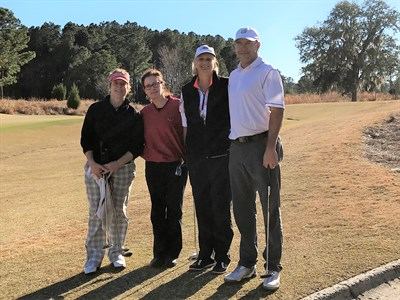 Carrie Sexton, Mary Pat Bonchosky, Linnea Wilson, Tom Logue - 2018 Pro Appreciation Low Net Flight 1