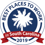 South Carolina best places to work logo 2019