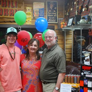 Davis & Son Tobacconist 40th Anniversary Event