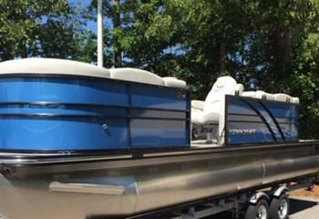 2020 Starcraft Pontoon SLS3 Blue  liquid-unknown-field [type] Boat
