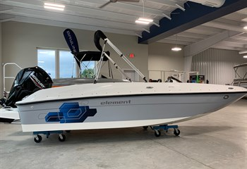 2021 Bayliner Element E18 Gray/White  Boat