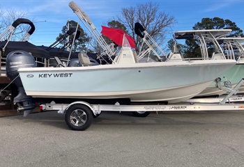 2021 Key West 176 CC Ice Blue (CLAYTON) Boat