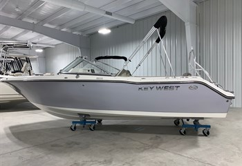 2021 Key West 203 DFS Manta Gray Boat