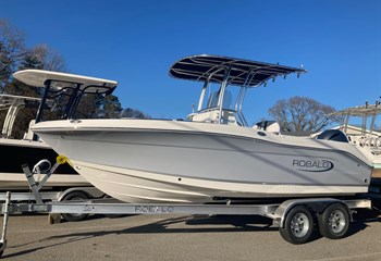 2021 Robalo R202 Explorer Alloy Gray/White Boat