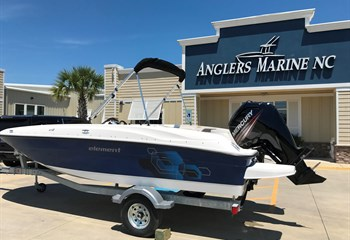 2020 Bayliner Element E18 Navy liquid-unknown-field [type] Boat