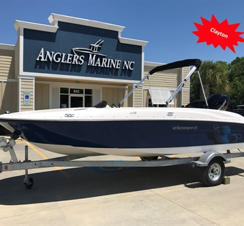 2019 Bayliner Element E18 Navy liquid-unknown-field [type] Boat