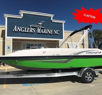 2018 Green Starcraft MDX 211 Clayton New Boat