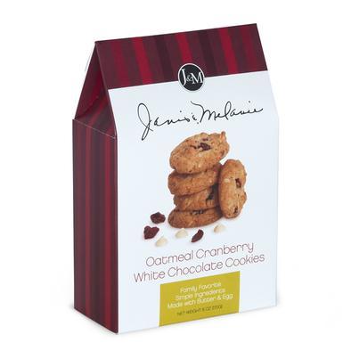 Carolina Coffee Oatmeal Cranberry White Chocolate Cookies