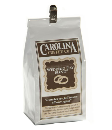 Carolina Coffee Wedding Day Blend Swiss Water Decaf