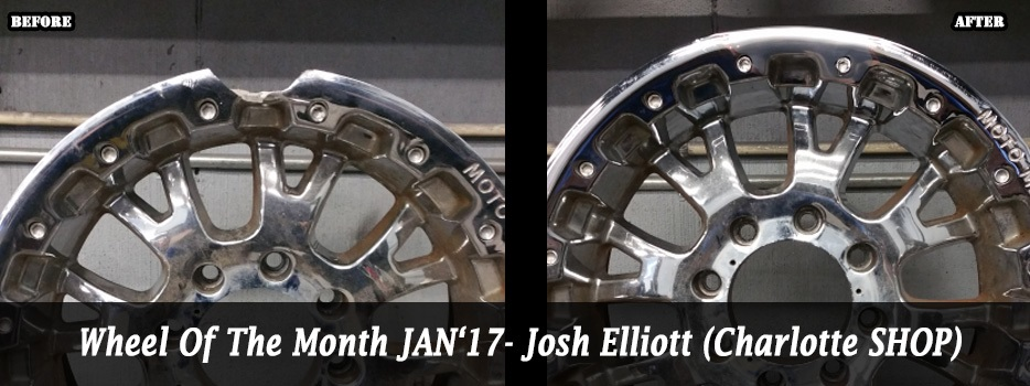 Wheel of the Month January `17 - Josh Elliot (Charlotte)