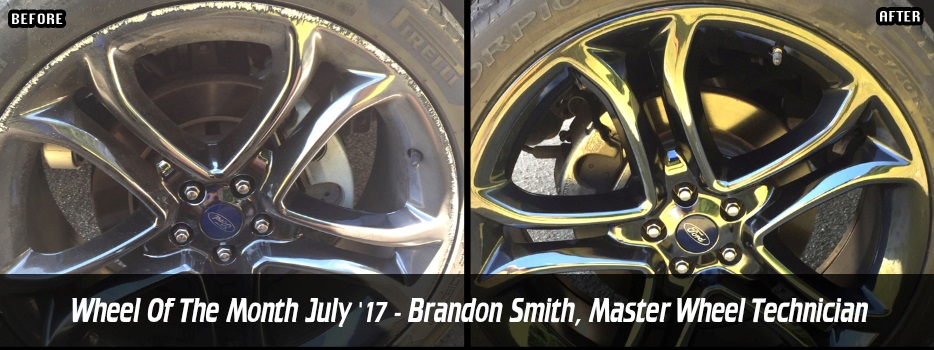 Wheel of the Month July `17 - Brandon Smith, Master Wheel Technician